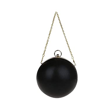 Amazon.com  Zakia Cute Round Ball Evening Bag Clutch Handbag for ...