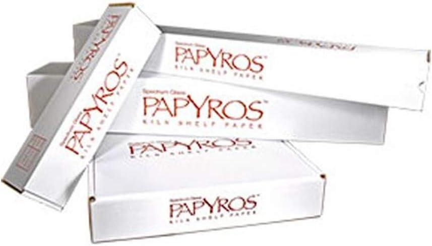 20.5 x 20.5-5 Sheet Pack Papyros Kiln Shelf Paper