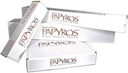 Thats 141 Sq Papyros Kiln Shelf Paper 20.5 x 82 Craft Roll Feet!