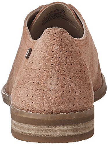 Hush Puppies Women's Aiden Clever Oxford Coral Suede Perforated discount how much exclusive cheap price sale best store to get outlet explore jDK3ZHkY