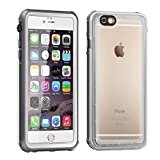 Waterproof iPhone 6 6s Case,Eonfine iPhone 6s Case Clear Protective Case IP68 Certified With Touch ID Heavy Duty Shockproof Case Skin for iPhone 6 White