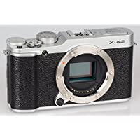 Fujifilm X-A2 Mirrorless Digital Camera (Silver Body Only) - International Version (No Warranty)
