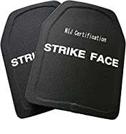 2pcs/Lot Ballistic Plate Pe NIJ3A Stand Alone Bulletproof Panel/Ultra Light Weight Body Armor Helmet Stand Boa