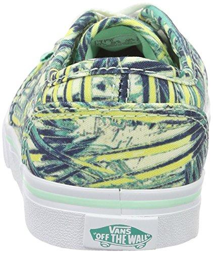 Vans Mädchen My Atwood Low Sneakers, Blau (Palms), 30 EU