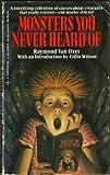 Monsters You Never Heard Of, Raymond Van Over, 0425107175