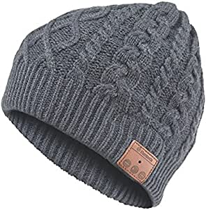 Archos - Gorro de Lana con Auriculares Bluetooth Integrados, Color ...
