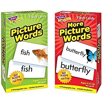 Amazon.com: Picture Words Pocket Flash Cards: Toys & Games
