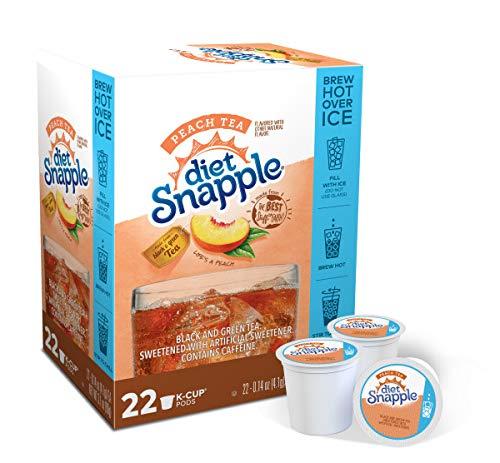 Snapple diet half and half k cups
