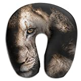 Multifunctional Neck Pillow Africa Wildlife U-Shaped Soft Pillows Convertible Portable For Reading,Sleeping On Airplanes,Train,Car,and Travel
