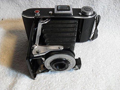 Rare Agfa Ansco PB-20 120 Roll Film Folding Camera Major Anastigmat F7.7 Lens from Unknown