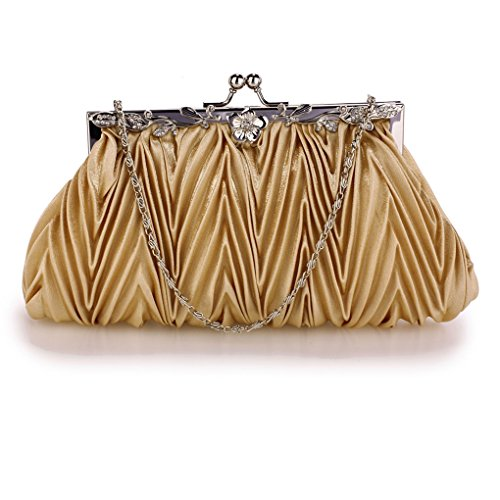 Handbags Bags Bag Cw98 Bridal Evening Leahward Purses Satin Clutch Ladies Wedding Womens Nude wOZnxgq4vH