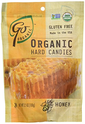 (GoNaturally ORGANIC HARD CANDIES (Honey) (1 x 3.5)