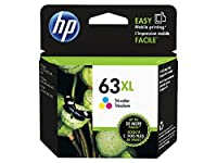 HP 63XL Tri-color High Yield Original Ink Cartridge (F6U63AN) from Hewlett Packard SOHO Consumables