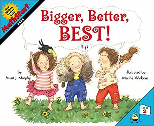 Classroom Library 025-1318 Book Bigger Better Best Paperback by Classroom Library