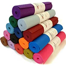 Bean Yoga Mat Extra Thick 1/4 inch (6mm), Extra Long 72 inch, Premium Sticky Mat, Non-Toxic SGS certified, Yoga Monster