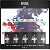 Liquitex Professional Acrylic Ink, Muted Colors Collection Set