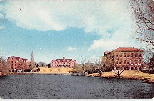 Reno Nevada University Waterfront Vintage Postcard K44850