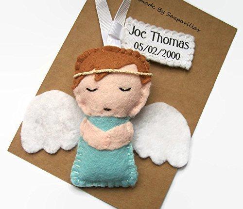 Personalised Remembrance Angel Handmade