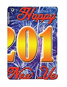 New Diy Design Happy New Year For Ipad Air Cases Comfortable For Lovers And Friends For Christmas Gifts