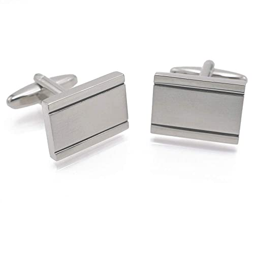 Amazon.com: Xiuxian Jewelry - Gemelos rectangulares para ...