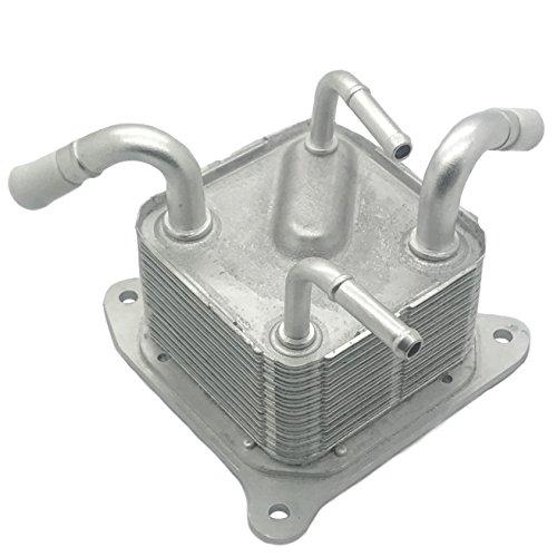 4-Port Oil Cooler for 2013+ Nissan Sentra CVT Transmission Upgrade (IEW-N8) Solves Overheating ()