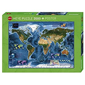 Heye Spz2000 Satellite Map Puzzle Standard 29797