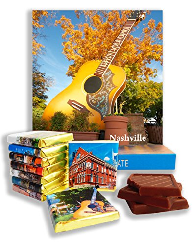 DA CHOCOLATE Candy Souvenir NASHVILLE Chocolate Gift Set 5x5in 1 box (Grand Ole Opry - Nashville Opry