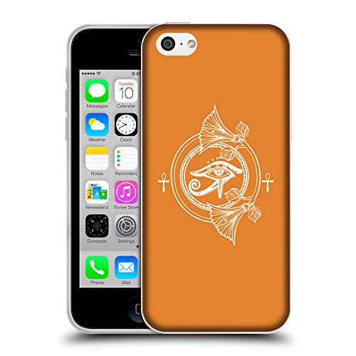 GoGoMobile Coque de Protection TPU Silicone Case pour // Q09860623 Religion 26 Orange Cadmium // Apple iPhone 5C