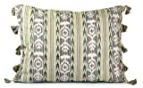 NOVICA Multicolor Cotton Throw Pillow Cover 'Tribute'