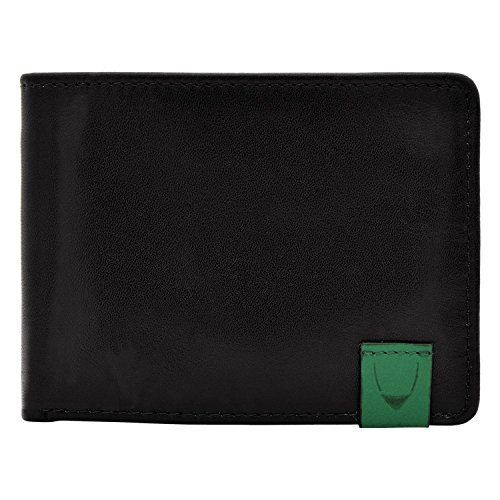 hidesign-dylan-slim-thin-simple-leather-bifold-wallet-black-under-seat