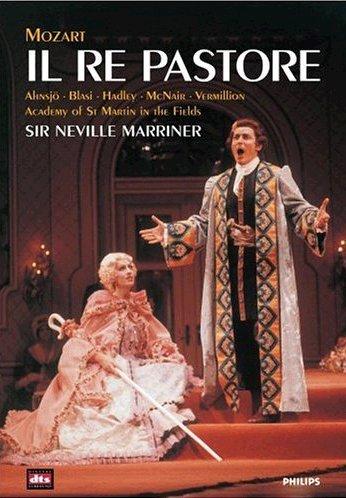 (Mozart - Il Re Pastore / Jerry Hadley, Sylvia McNair, Angela Maria Blasi, Iris Vermillion, Neville Marriner, Salzburg)