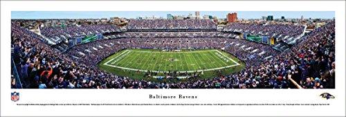 Baltimore Ravens - 50 Yard - Blakeway Panoramas Unframed NFL Posters ()
