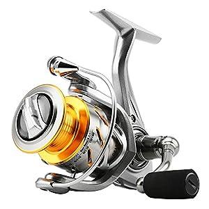 SKYSPER Fishing Reels Spinning Reels 10+1 Stainless Ball Bearings Left/Right Interchangeable...