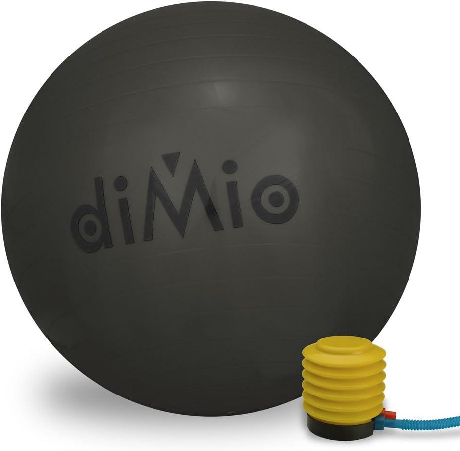 diMio Gymnastikball 55-65 cm in 7 Farben inkl Pumpe