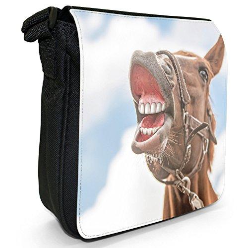 Pferd Snuggle Porträt Bandoulière A Femme Von Sac Lachendem Fancy Pour qSz5v