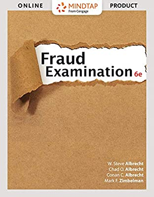 MindTap Accounting for Albrecht/Albrecht/Albrecht/Zimbelman's Fraud Examination, 6th Edition , 1 term (6 months) [Online Code]