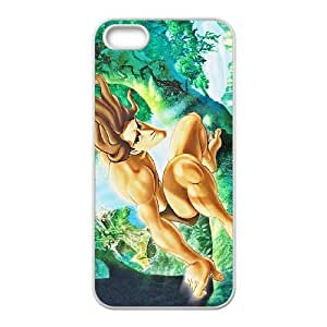 iPhone 4 4S Case White Tarzan Cell Phone Case Cover K4F8CT