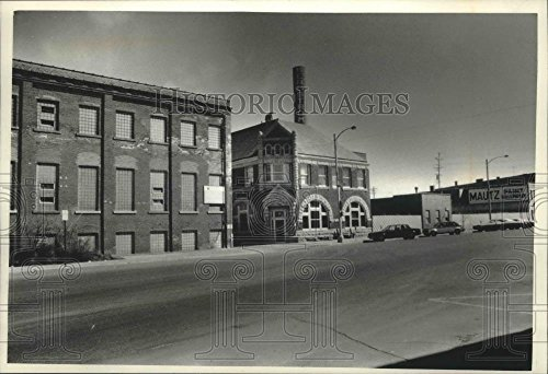 1991 Press Photo P H  Glatfelter Mill In Neenah  Wisconsin   Mjb71130