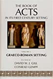 img - for 002: The Book of Acts in Its First Century Setting Vol. 2: Graeco-Roman Setting book / textbook / text book