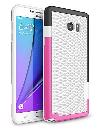 Slim Shockproof Case for Samsung Galaxy Note 5 N920 (White) - 3