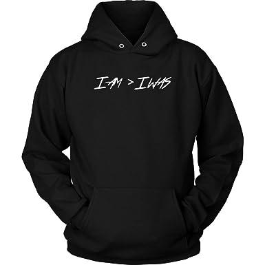 342a809f 21 Savage I Am I was Rap Hoodie Sweatshirt at Amazon Men's Clothing store: