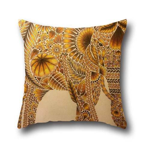 DGou Going art elephant Throw silk pillowcases Products Memo