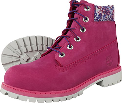 "Timberland 6"" Premium Waterproof Boot 732 Damen Stiefel (pink)"