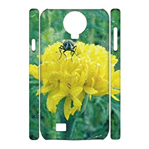 3D Samsung Galaxy S4 Case Housefly for Guys, Cell Phone Case for Samsung Galaxy S4 Mini Sexyass, {White}