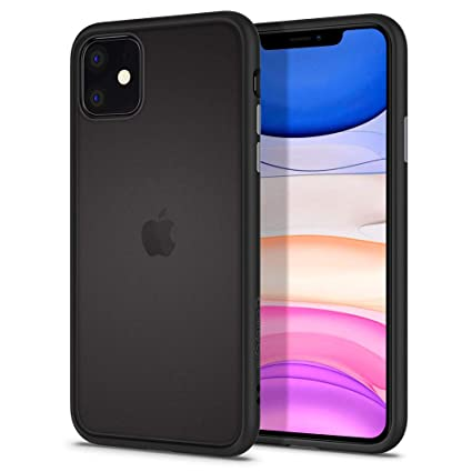 CYRILL Ciel Color Brick Designed for iPhone 11 Case , Black