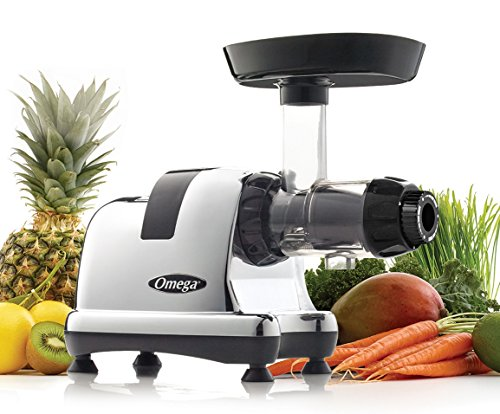 Omega 8008 Chrome-Heavy Duty Masticating Juicer