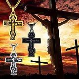 FaithHeart Byzantium Crucifix Cross Pendant