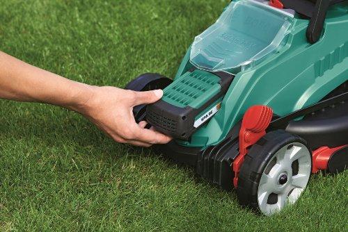 bosch rotak  cordless lawnmower li high power battery