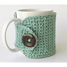 Coffee Mug Cozy Cotton Seabreeze
