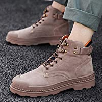 Pandaie-Mens Shoes Winter Mens Boots Non-Slip Wear-Resistant Outdoor Tooling Big Size Shoes